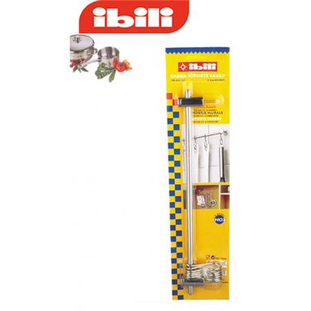 Barra colgador para utensilios de cocina 40 cm for Colgador utensilios cocina