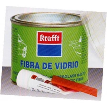 Masilla fibra de vidrio endurecedor krafft 250 gr para - Masilla de fibra de vidrio ...